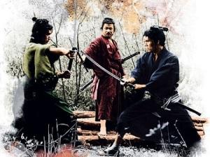 Entrainement au katana