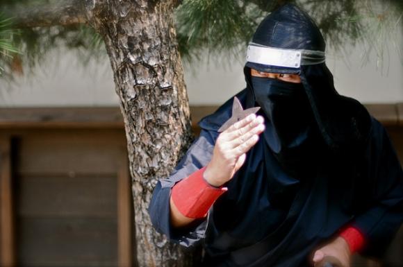 Le Shuriken l'arme des ninjas