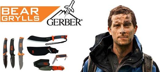 Un vaste de choix d'arme de Bear Grylls Gerber, venez les découvrir !