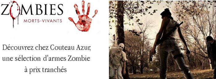 Une sélection d'armes pour la lutte anti-zombie !