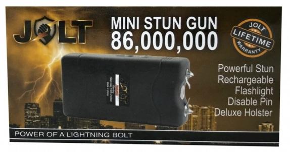Taser shocker 86 000 000 volts ! LED noir - Tazer puissant.