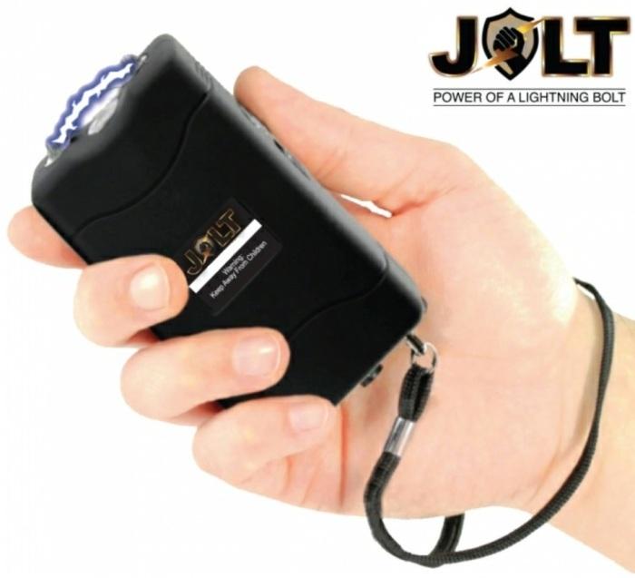 Taser shocker 86 000 000 volts ! LED noir - Tazer puissant
