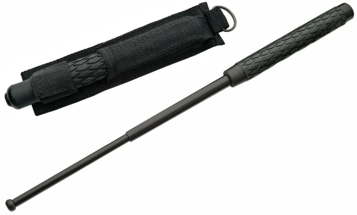 matraque-telescopique-noire-52cm-baton-impact-metal
