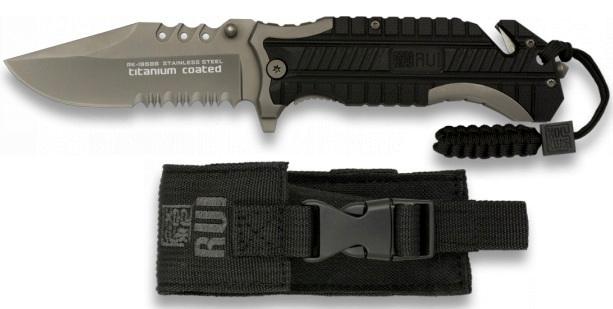 Couteau pliant 21,8cm TITANE paracorde – RUI