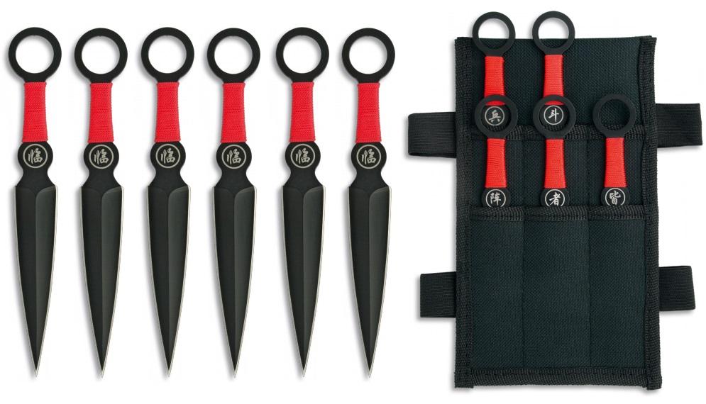 Couteaux de lancer kunaï ALBAINOX