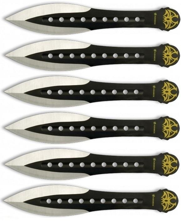 Lot 6 couteaux couteau de lancer ALBAINOX