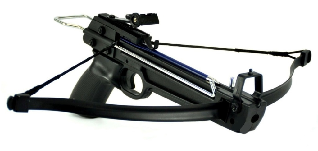 Arbalète pistolet 50 livres + 5 fleches traits
